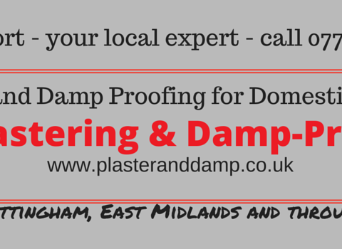 Damp Problems Proofing Mansfield Nottingham Chesterfield Plasterer Residential Trade