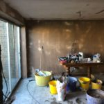 2018 Mansfield Plasterer Party Wall Kitchen Diner Extention -